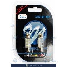 LED lemputės C5W  2vnt.