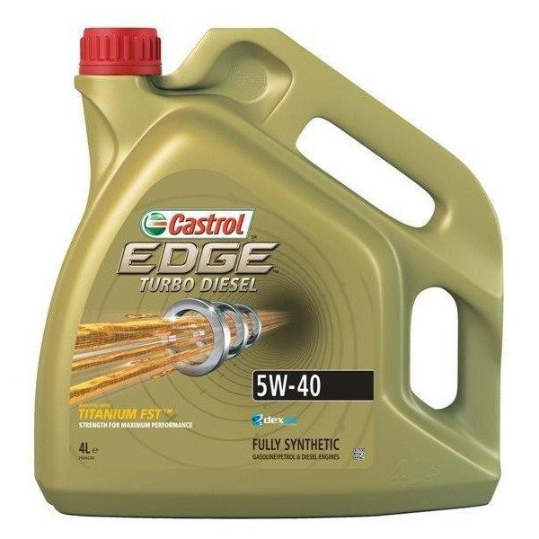 5W40 CASTROL EDGE TURBO DIESEL 4L