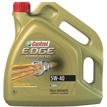 5W40 CASTROL EDGE TURBO DIESEL 4L