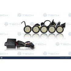 Daylight running lights LED 825HP BLACK