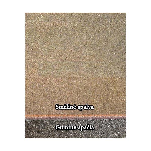 Smėlynė kilimėlių spalva