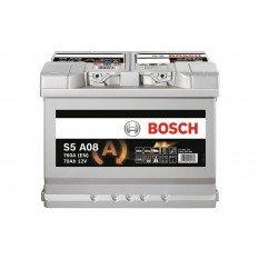 Akumuliatorius Bosch 70Ah 760A (S5A08) AGM
