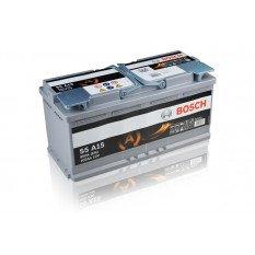 Akumuliatorius Bosch 105Ah 950A (S5A15) AGM