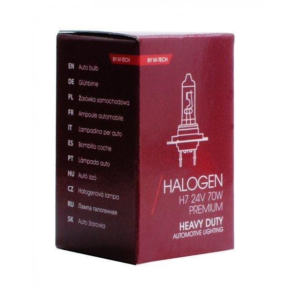Halogeninė lemputė H7  (24V) Heavy Duty