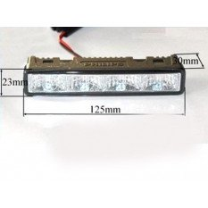 LED Daytime running lights 12831WLEDX1