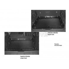 Guminis bagažinės kilimėlis Porsche CAYENNE II 2010-... /233502