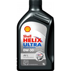 Alyva SHELL 0W30 HELIX ULTRA PROFESSIONAL AV-L 1L