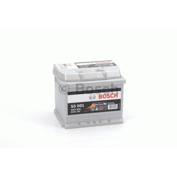 Akumuliatorius Bosch 52Ah 520A (S5001)
