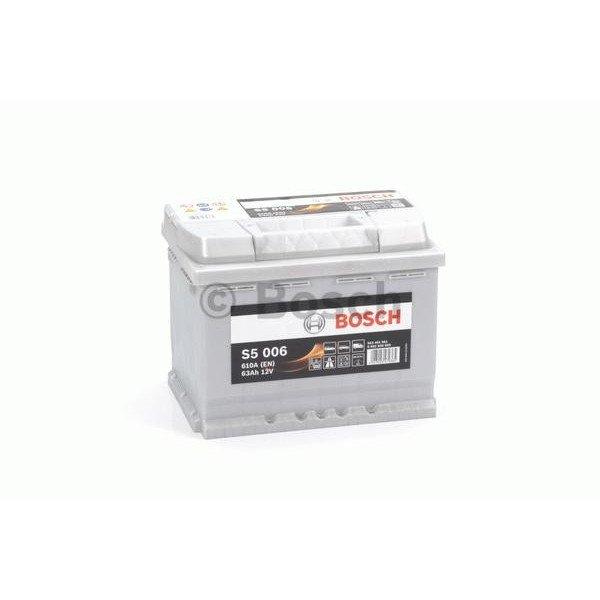 Akumuliatorius Bosch 63Ah 610A (S5006)