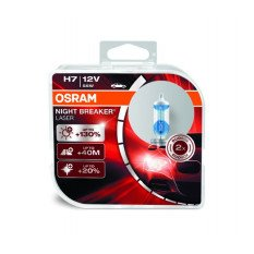 Osram lemputės Night Breaker LASER H7