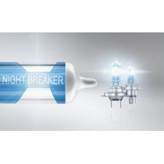 Osram lemputės Night Breaker LASER H7