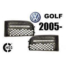 LED dienos žibintai VW Golf 2005 -