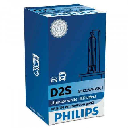 Lemputė PHILIPS D2S WhiteVision Ultra (85122BVUC1)
