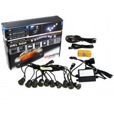 LED daytime running lights 402S Smoke