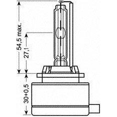 Ksenoninės lemputės Osram D1S XENARC (66140)