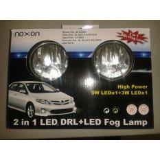 LED dienos žibintai + FOG 9