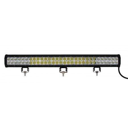 Žibintas LIGHT BAR - Double Row - Bottom Bracket, 180W