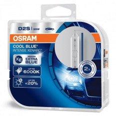 Ksenoninės lemputės Osram D2S Cool blue