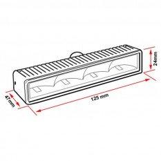 LED dienos šviesos žibintai NSSC 540 PRO