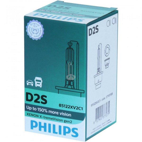 Lemputė PHILIPS D2S XV+150% gen2  (85122 XV)