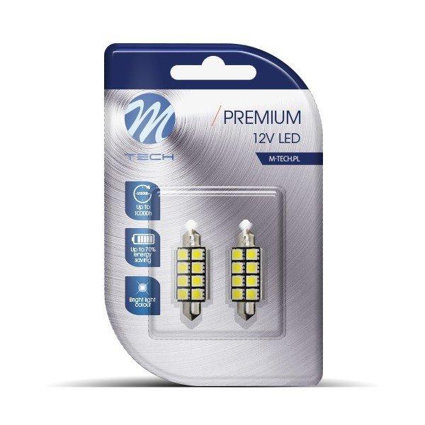 LED lemputės C5W   Canbus 41mm