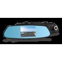 Registratorius su veidrodėliu + galine kamera Vordon