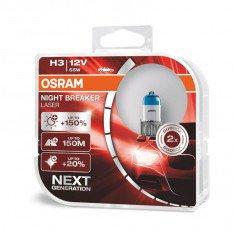 Osram lemputės Night Breaker LASER H3 | NEXT