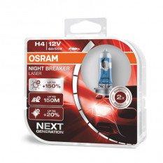 Osram lemputės Night Breaker LASER H4 +150% | NEXT