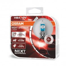 Osram lemputės Night Breaker LASER HB4 +150% | NEXT