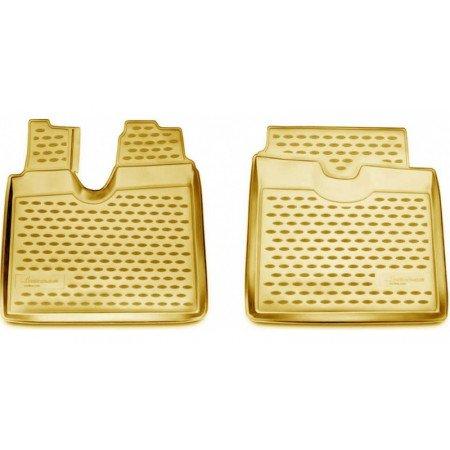 Guminiai kilimėliai 3D MAN TGA LX 2012-... 2 pcs.beige