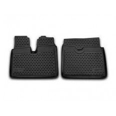 Guminiai kilimėliai 3D MAN TGA XXL 2012-  2 pcs. gray