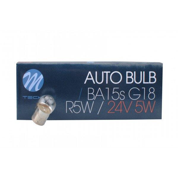 Halogeninė lemputė BA15s G18 24V/5W