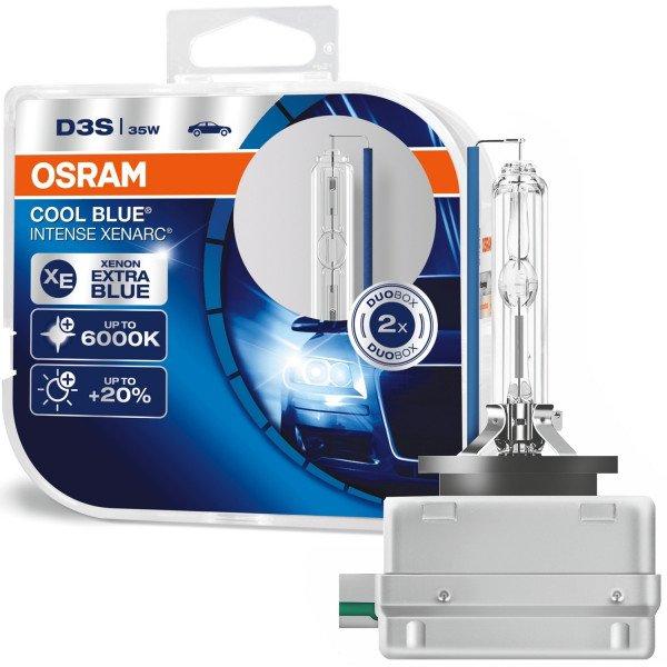 Ksenoninės lemputės 2vnt. Osram D3S Cool blue