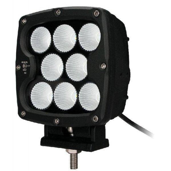 """LED papildomas žibintas Black CREE 80W 7"""" Spot"""