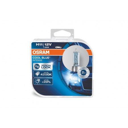 Osram lemputės COOL BLUE® H11 Intense