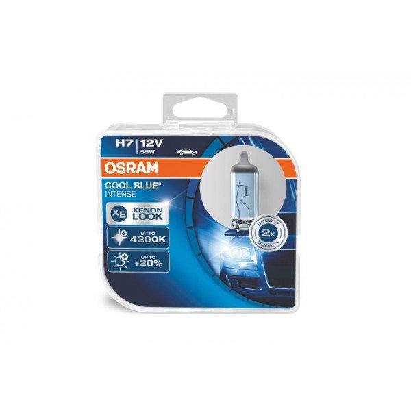 Osram lemputės COOL BLUE® H7