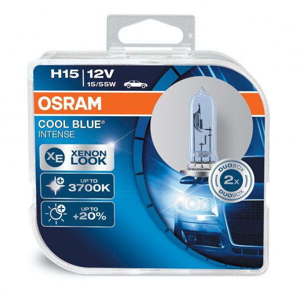 Osram lemputės H15 COOL BLUE intense