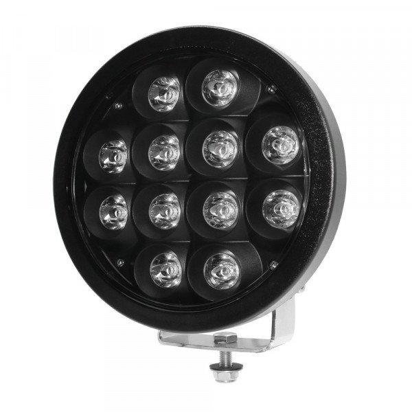 """LED papildomas žibintas black CREE 72W 9"""""""