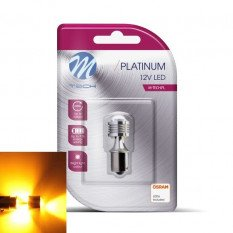 LED lemputė LED LB811Y - BA15s 4xHP LED 12-24V Amber