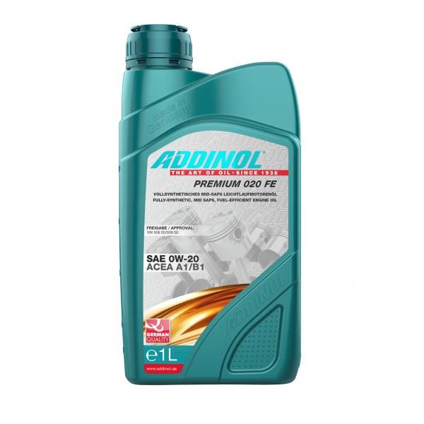 Variklinė alyva Addinol Premium 0W-20 FE 1L