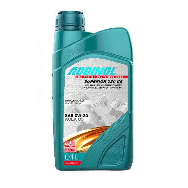 Variklinė alyva Addinol Premium 0W-20 C5 1L