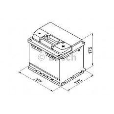 Akumuliatorius Bosch 44Ah 440A (S4001)