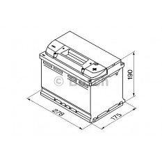 Akumuliatorius Bosch 74Ah 680A (S4008)