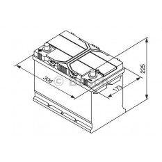 Akumuliatorius Bosch 95Ah 830A (S4029)