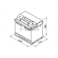 Akumuliatorius Bosch 63Ah 610A (S5005)