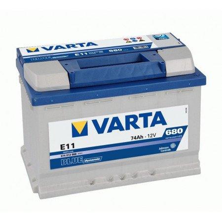 Akumuliatorius VARTA 74Ah 680 A (E11)