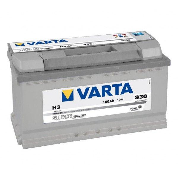 Akumuliatorius VARTA 100Ah 830 A (H3)