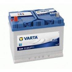 Akumuliatorius VARTA 70 Ah 630 A (E24) + -