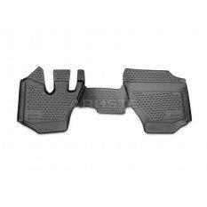 Guminiai kilimėliai 3D ISUZU FSR 2014- , 2 pcs. /L31001G /gray