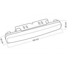 Dienos žibintai HP 507